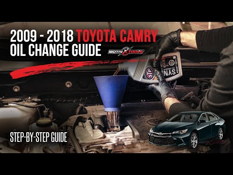 Toyota Camry oil capacity and oil change interval | Engineworks