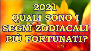 Ma secondo voi quali saranno i segni zodiacali più fortunati o meno del nuovo anno 2021 in amore, lavoro, denaro, forma fisica? analizzando trans...