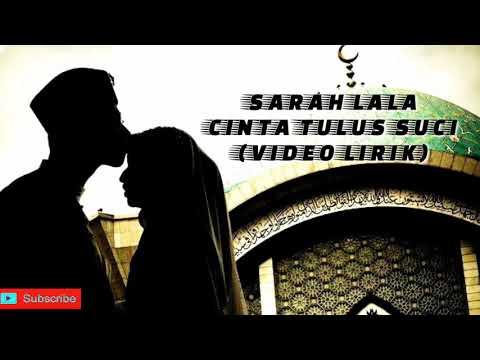 BalasanLaguCintaBedaAgama||SARAH LALA - CINTA TULUS SUCI (VIDEO LIRIK)