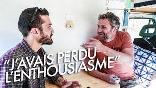 IL A QUITTÉ PARIS POUR VIVRE SUR LA ROUTE   Avec Philippe de 'Voyage Voyages'