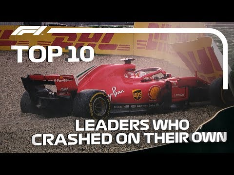 Top 10 Times The Race Leader Crashed On His Own