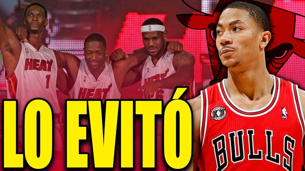 🧐¿DERRICK ROSE NO QUERÍA A LEBRON JAMES EN CHICAGO BULLS?😱