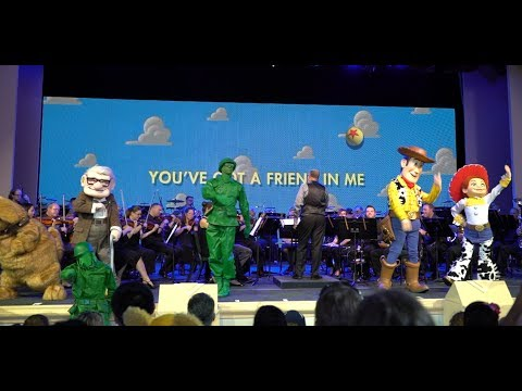 The Music Of Pixar Live! A Symphony Of Characters | Walt Disney World's Hollywood Studios