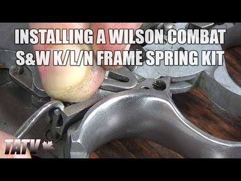 Installing a Wilson Combat Smith & Wesson K/L/N Frame Revolver