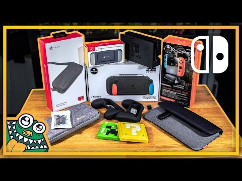 10 More MORE Nintendo Switch Accessories - Part 3 - List and Review + GIVEAWAY!