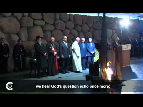 Pope meets with Muslims, Jews in Holy Land