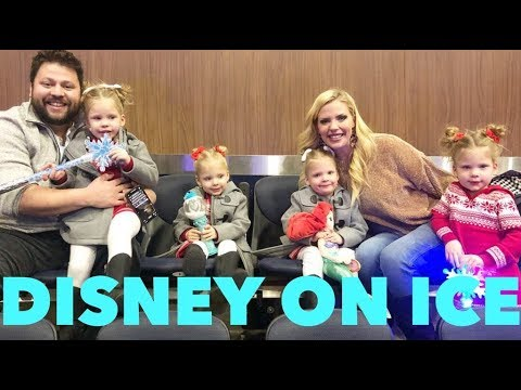 QUADRUPLETS EXPERIENCE DISNEY ON ICE