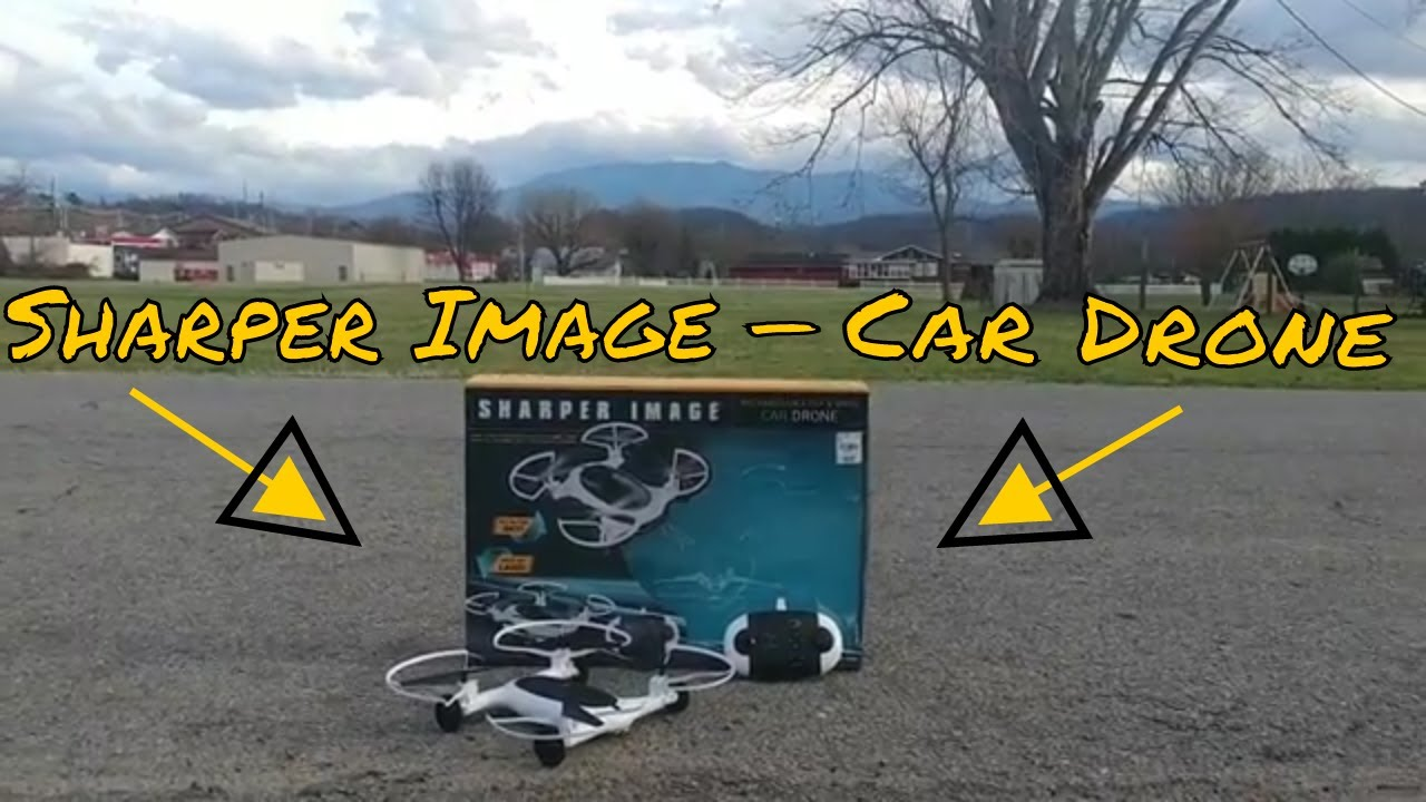 Sharper Image Car Drone Review Youtube