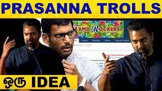 Prasanna Trolls Tamil Rockers – Super Fun Fill Video | Thiravam Web Series PressMeet | Zee5Original