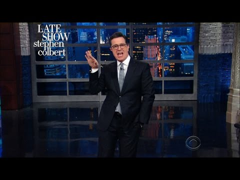 Stephen Colbert Isn't Sure Trump Really Wants to Celebrate ...