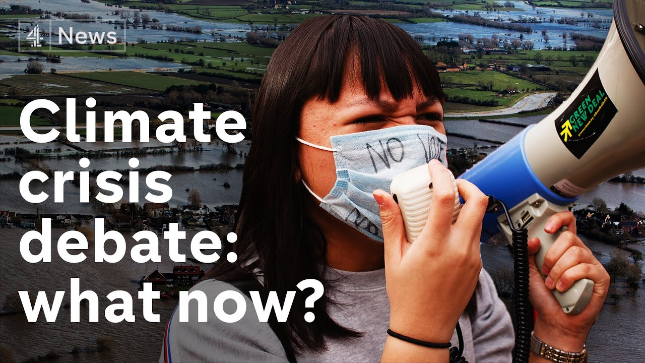 Climate change debate: what are the solutions to the crisis?