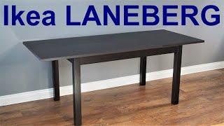 ikea laneberg extendable table assembly