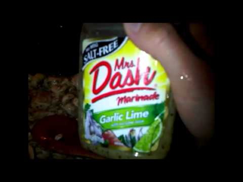 Garlic Lime Chicken Mushroom -- Mrs. Dash Recipe