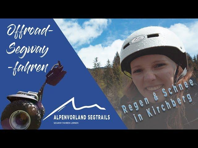 Segway Touren in den Bergen - Regen und Schnee in Kirchberg Tirol