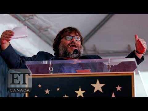 Jack Black Calls Out Donald Trump During Walk Of Fame Speech