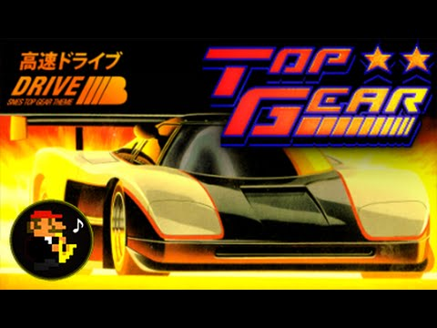 ♫Main Theme/Track 1 Techno Remix! Top Gear (SNES) - Extended!