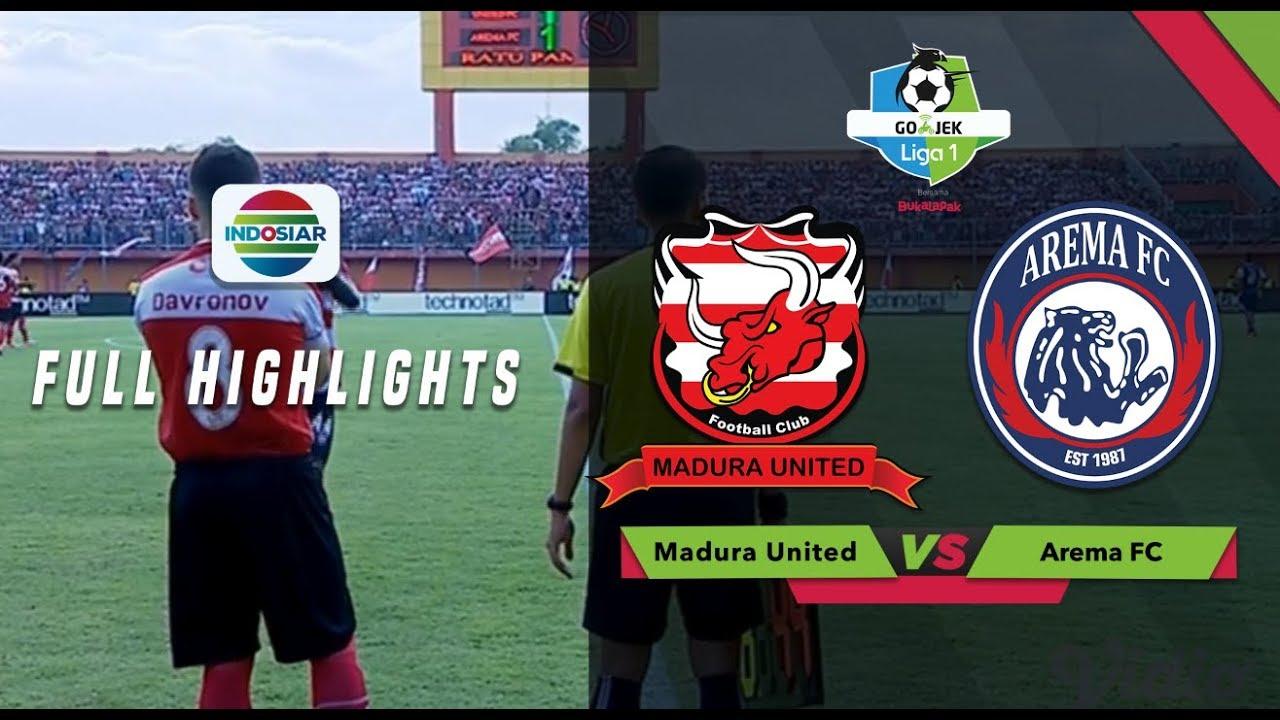 Madura United (3) vs (2) Arema FC - Full Highlight | Go ...