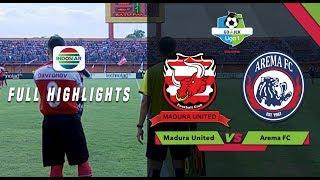 Madura United (3) Vs (2) Arema Fc   Full Highlight | Go Jek Liga 1 Bersama Bukalapak