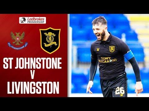 St Johnstone 1-1 Livingston   Halkett's Long Range Goal Earns Draw For Livi   Ladbrokes Premiership