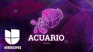 Acuario - Semana del 25 de noviembre al 1 de diciembre | Univision Horóscopos