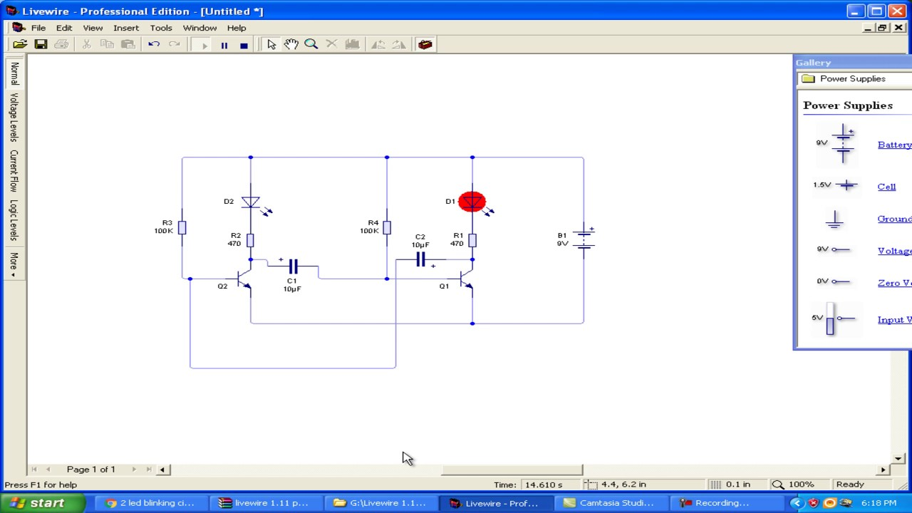 electronic circuit board design software - YouTube