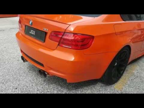 Bmw M3 E92 Malaysia Orange Edition Youtube