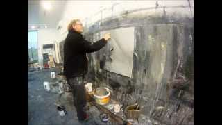 Ørnulf Opdahl painting time lapse