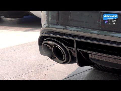 2016 RS6 Performance (605hp) - Audi Sport Titan Exhaust (60FPS)