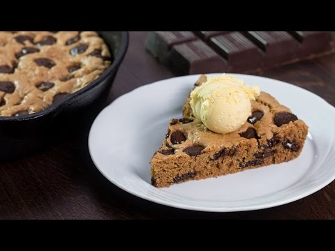 Skillet Chocolate Chip Cookie Recipe