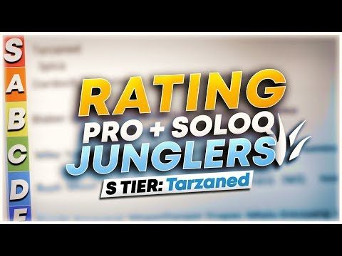 RANK 1 RATES ALL JUNGLERS IN NA (PRO & SOLO QUEUE) | League of Legends