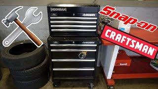 Tool Box Tour!! (Snap On, Craftsman..)