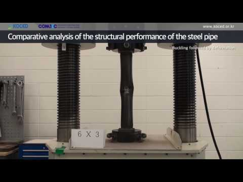 Comparative analysis of the structural performance of the steel pipe