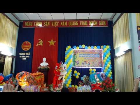 Vui hội trăng rằm tại Chi cục thuế TP Nam Định.