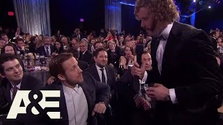 T.J. Miller Chats with the Audience | 22nd Annual Critics' Choice Awards | A&E