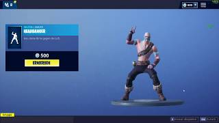 Fortnite *NEW* Headbanger new Rockiger Emote 500 Vbucks EPIC Item Shop 27.10.2018
