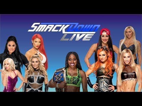 WWE Smackdown Live Women's Roster Signatures & Finishers