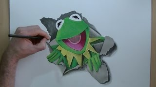 How To Draw Kermit the Frog