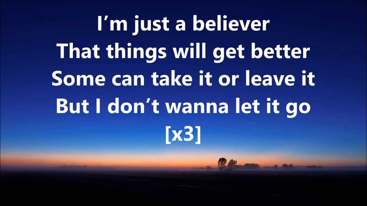 Believer video song free download with lyrics