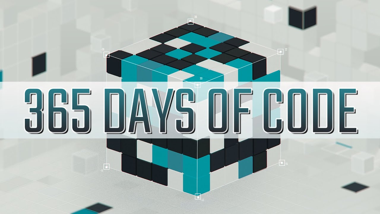 100 Days Of Code? How about a 365 Days Of Code Challenge!