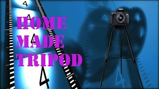 How to make tripod for camera and mobile at home.