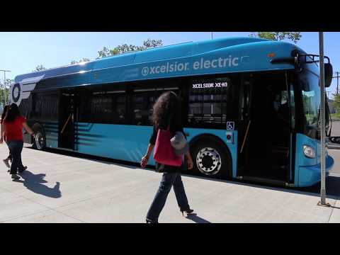 New Flyer Xcelsior CHARGE™ in Action | Electric Bus