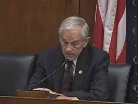 Ron Paul Q&A at House Financial Services Committee 7.16.2009 3/3