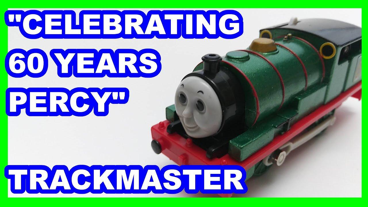 """Custom """"60 years"""" Percy Trackmaster Thomas & friends Thomas y sus amigos 托馬斯和朋友 Томас и друзья"""