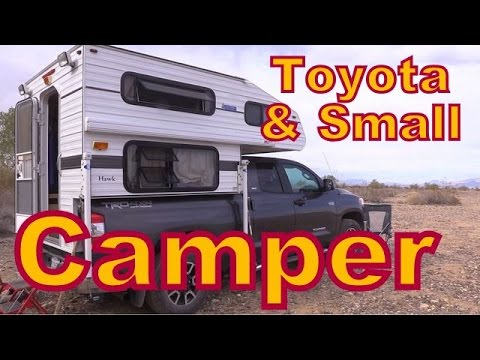 Living in a Four-Wheel Camper on a Toyota Pick-up