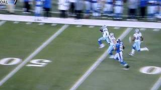Bryan McCann 101 Yard Interception Return Dallas Cowboys vs. New York Giants 11/14/10