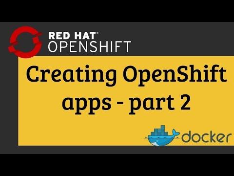 ShapeBlock - Creating OpenShift apps – part 2: Docker image, S2I