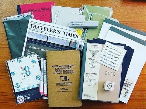 NYC Stationery Haul - Traveler's Company Caravan x Ace Hotel & Others!