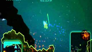 Gravity Crash Portable PSP Gameplay