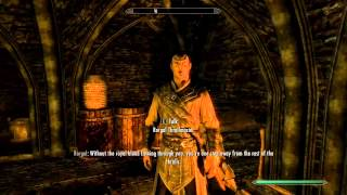 Elders Scroll: Skyrim  DLC Dawnguard After being cured from vampirism Harkons court reaction