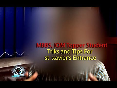 How to get into St  Xavier's Entrance in Nepal 2017